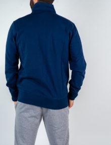 Uomo - Zip lunga con tasche felpa non garzata