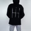 Uomo - Cappuccio over zip lunga + rete