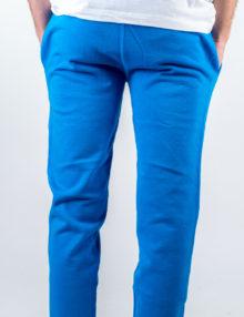 Uomo - Pantalone felpa non garzata con polsi