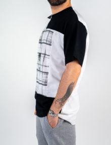 Uomo - T-shirt m/c over jersey e inserti rete