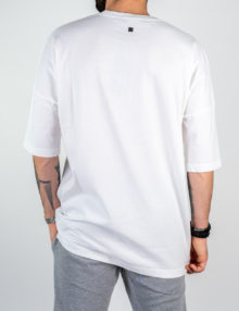 Uomo - T-shirt m/c over jersey con taschino in rete